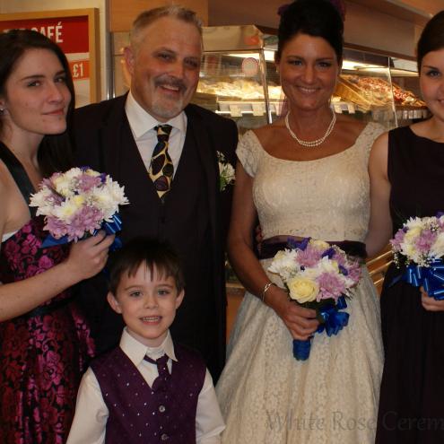 Rebecca, Blake and family.