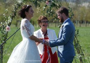 Rebecca Waldron Festival Wedding Celebrant Handfasting