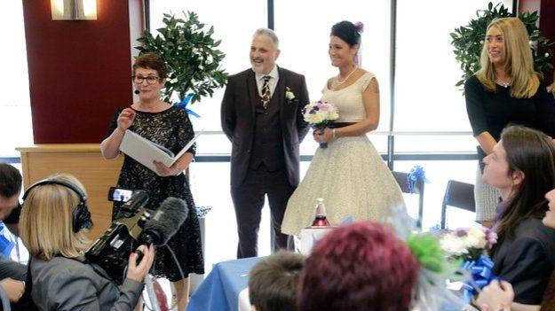 Celebrant Supermarket Wedding Rebecca Waldron