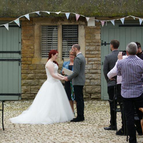 Conduct your Wedding Ceremony, Outdoor Wedding Ceremony, Rebecca Waldron, Civil Celebrant, White Rose Ceremonies