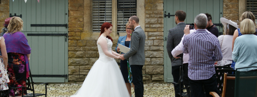 Conduct your Wedding Ceremony, Outdoor Wedding Ceremony, Rebecca Waldron, Civil Celebrant, White Rose Ceremonies