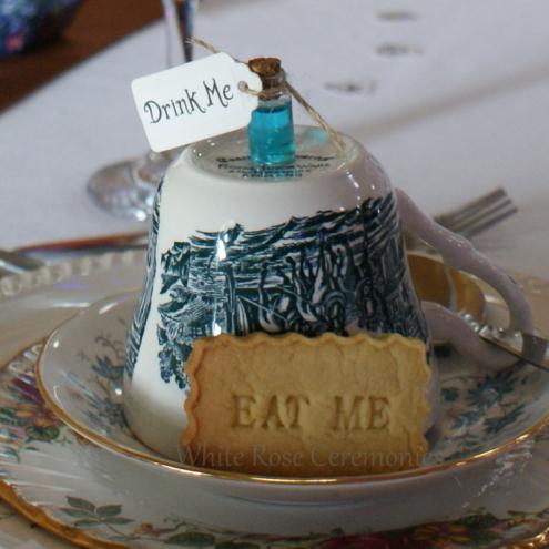 Alice-in-Wonderland Themed Wedding, Rebecca Waldron, White Rose Ceremonies