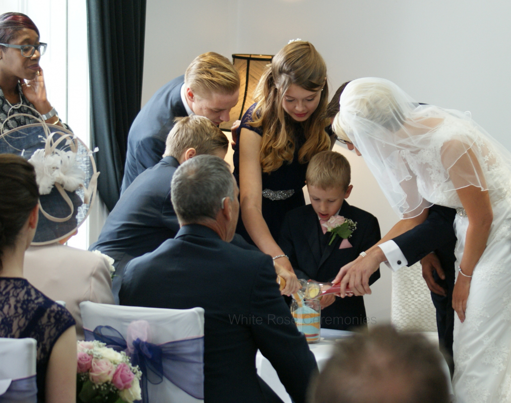 Sand Unity, Swynford Manor, Newmarket, White Rose Ceremonies