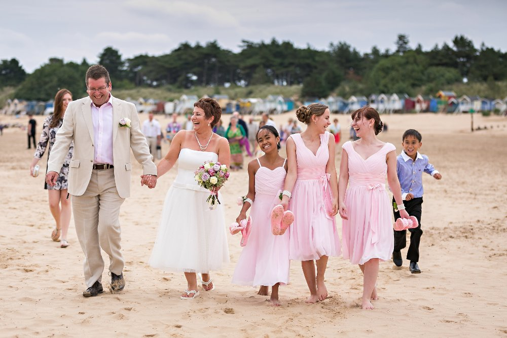 Perfect ceremony location on the beach