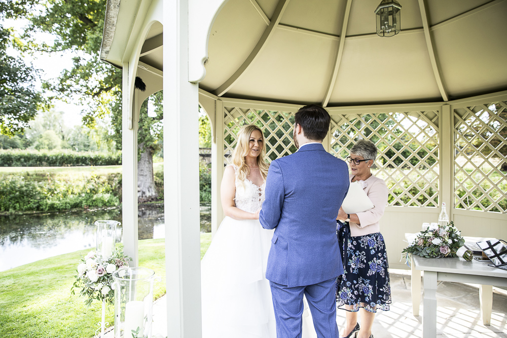 Perfect ceremony location, Longstowe Hall, White Rose Ceremonies, Celebrant